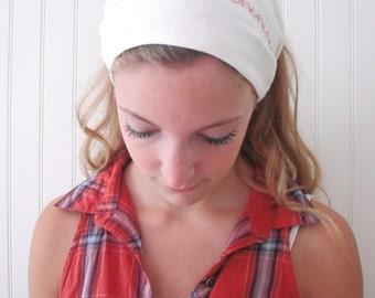 Cotton headband, reversible headscarf ( sale )