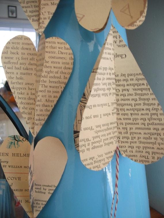 Paper Heart garland 3D