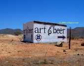 Art And Beer - fine art photography - 11x14-print - wall art