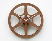 Recycled 16MM Movie Reel Clock