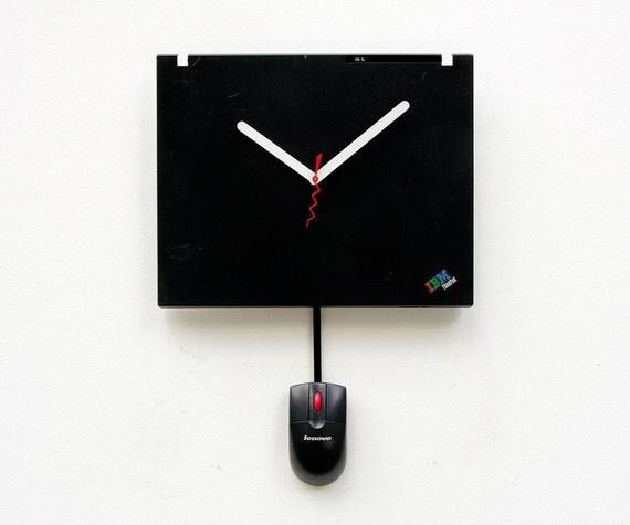 Recycled IBM Thinkpad Clock