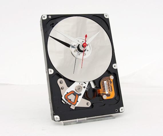 Computer Hard Drive Clock