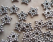 320 Silver Star Bali Style Spacers