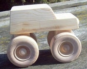 Wooden Toy Monster Truck
