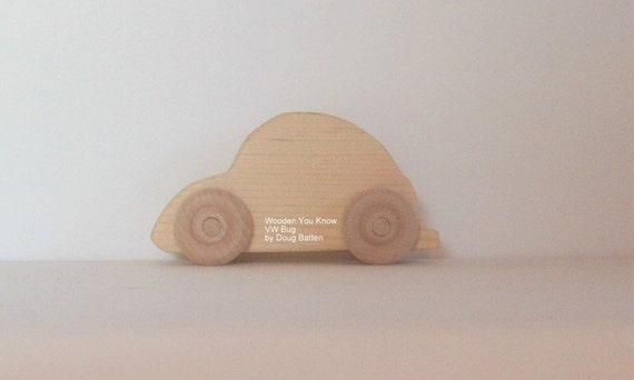 Wooden VW Bug