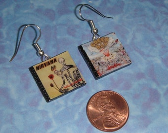 CD Earrings - Pick any 2 CDs for your set