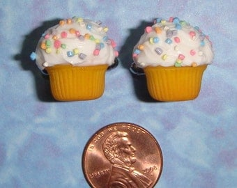 CUFFLINKS cupcake cuff links - CUSTOMIZABLE