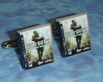 CUFFLINKS Playstation 3 PS3 game box cuff links - pick any 2 games