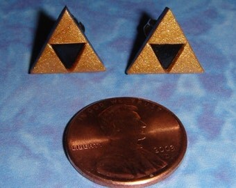 STUD EARRINGS Legend of Zelda Triforce