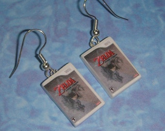 Nintendo Wii Game Box Earrings - PICK ANY 2 GAMES