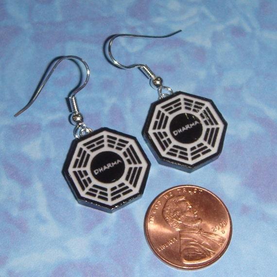 Dharma Initiatve Earrings - dangle or stud