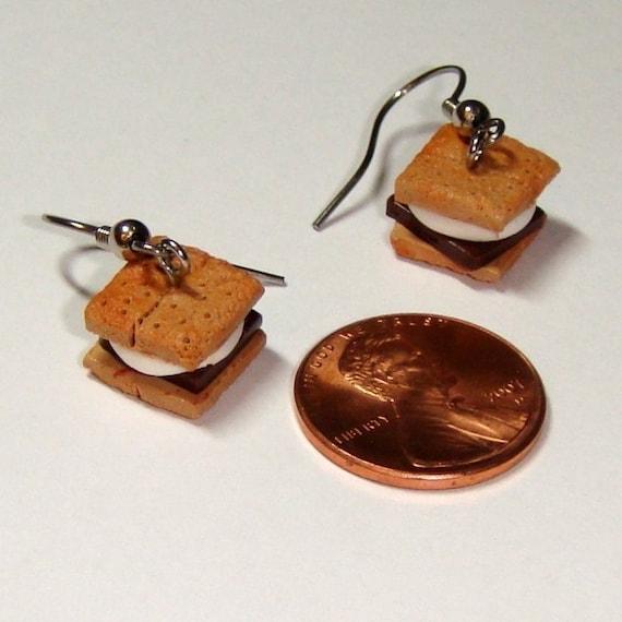 SMORES Earrings