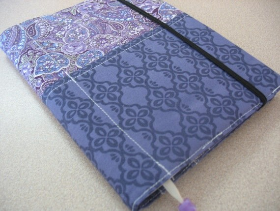 Purple Damask and Paisley Notebook/Journal Cover