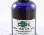 Aromatherapy Lavender Bath Oil