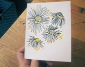 gocco greeting cards - pack of six - daisy chain