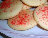 2 Dozen  Rose Water Cookies Gift for Mom