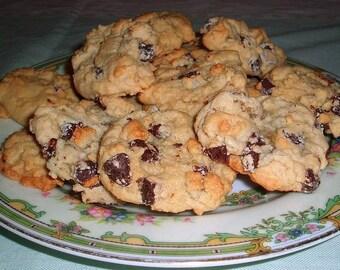 2 Dozen Low-Fat Chocolate Chip Cookies