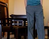 Ralph Lauren Grey Wool Blend Trouser Pants- Size 6