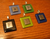 The Initial pendants - any letter
