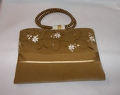 Golden English Ivy Placemat Purse