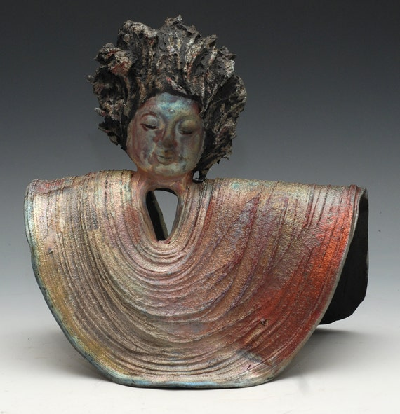Buddha Statue in a Folded Raku Robe