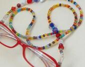 Rainbow EyeCatcher Eyeglass Chain
