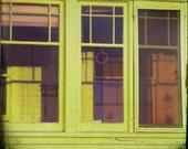 Chartreuse Home Porch Photograph--Sunporch--Fine Art