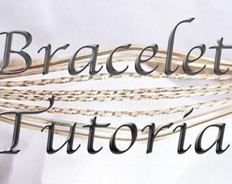 TUTORIAL Wire Wrapped Bracelets Jewelry ePattern Intermediate