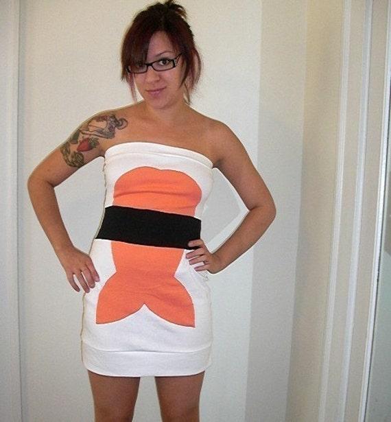 shrimp sushi dress - made to order