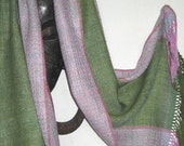 REDUCED for a limited time only - Handwoven Silk Shawl/Wrap