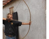 Elm Wood Archery Bow