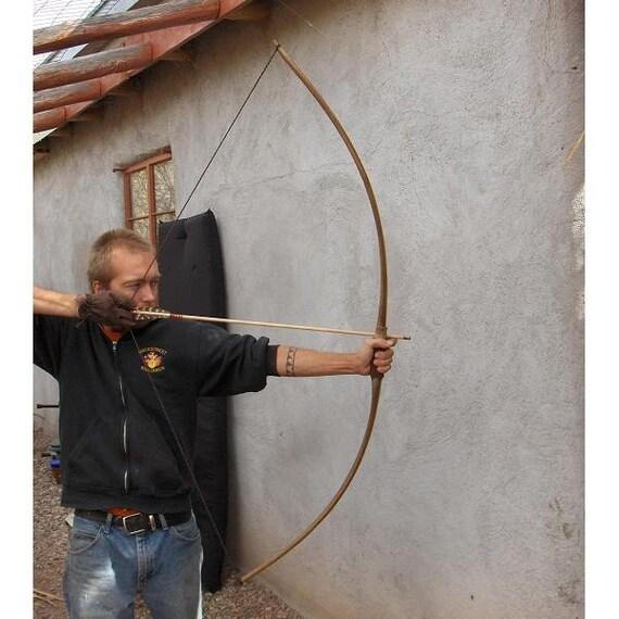 Elm Wood Archery Bow