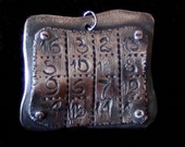 Magic Square Pendant