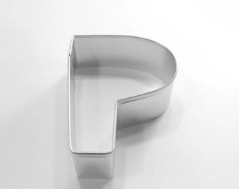 Capital Letter P Cookie Cutter