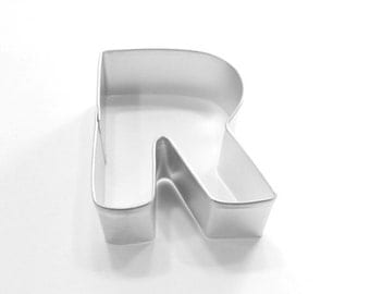 Capital Letter R Cookie Cutter