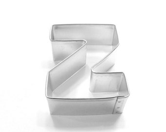 Capital Letter Z Cookie Cutter