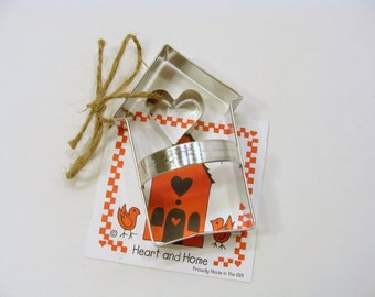 Heart and Home Cookie Cutter by Ann Clark