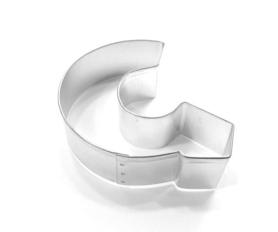capital letter e cookie cutter from cookiecutterguy on capital letter g cookie cutter new from cookiecutterguy on 390