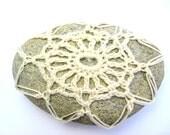 Handmade Crochet Stone