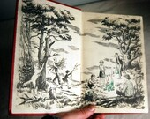 1955 Happy Hollisters and the Merry-Go-Round Vintage Childrens Book Mystery First Edition Mid Century Collectibles Black White Illustrations