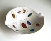 Vintage Modernist Bowl Mid Century Art Pottery Ceramics