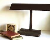 On Sale, Vintage Desk Lamp, Machine Age Lamp, Art Deco, by Mitchell Brown Industrial