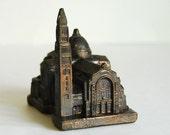 Vintage Souvenir, Metal Souvenir Building, National Shrine of the Immaculate Conception, Washington, DC
