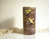 Vintage Ceramic Vase Royal Copley Goldfish Gold Fish Vase