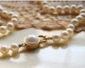 Vintage Faux Pearl Necklace White Choker Costume Jewlery Retro Wedding Preppy Fashion June Cleaver Classic Accessories