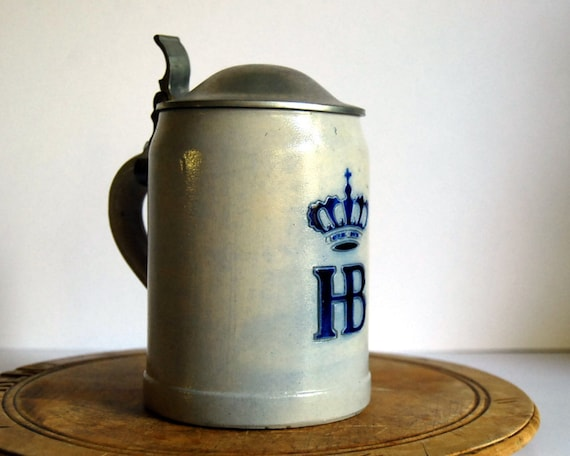 Vintage Beer Stein Mug Hofbrauhaus West Germany By
