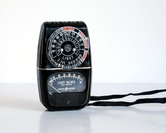 Vintage Ge Fan Model Numbers : Vintage camera light meter general electric ge dw s