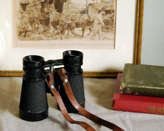 Japanese Hair Dryer >> Vintage Binoculars WWII Japanese Jes Field Rangefinder