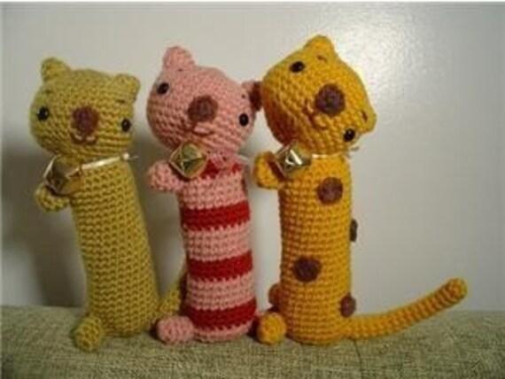 Amigurumi Hearthstone Pattern : hello long kitty amigurumi pattern PDF