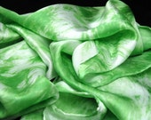 Women's Silk Scarves - Good Vibrations, satin scarf